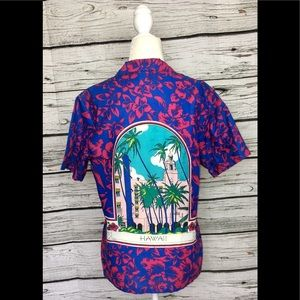 Vintage CHERYL TIEGS Hawaii Button Down Shirt 70s